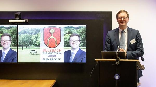 Bürgermeister Elmar Bociek