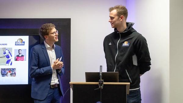 Yannick Krabbe im Gespräch mit Niklas Kiel